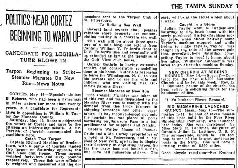 Tampa Tribune Wednesday, May 17, 1916