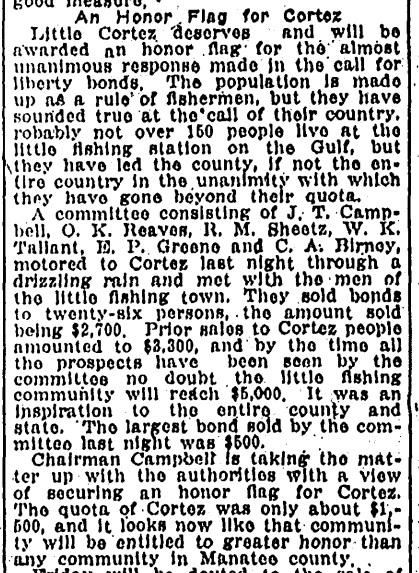Tampa Tribune April 24, 1918